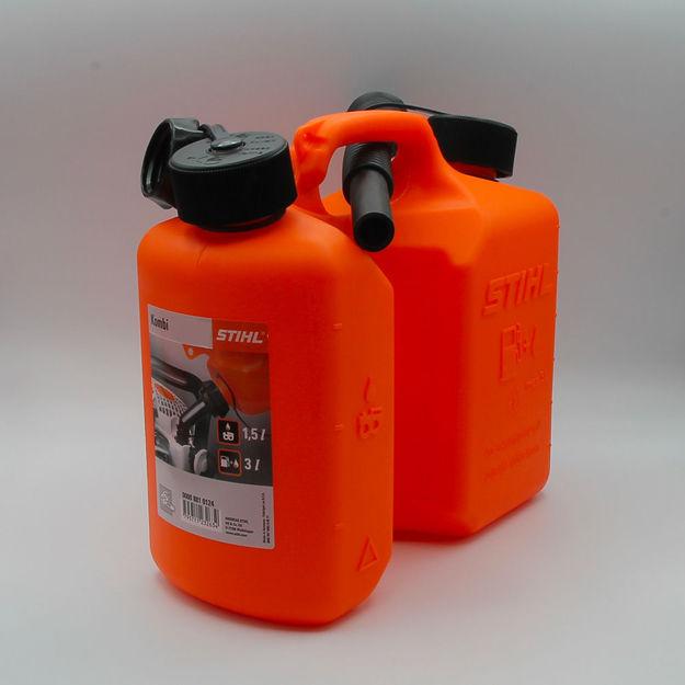Immagine di tanica combinata arancio 3lt./1,5lt.