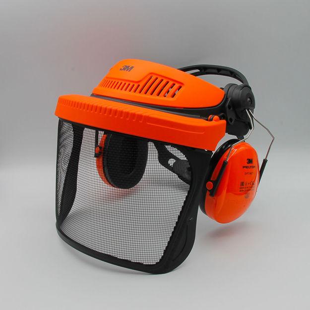 Immagine di visiera in rete g500 con cuffie 3m