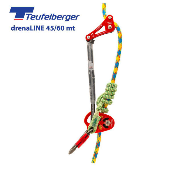 Immagine di Kit Rope Wrench PPE ISC e fune drenaline